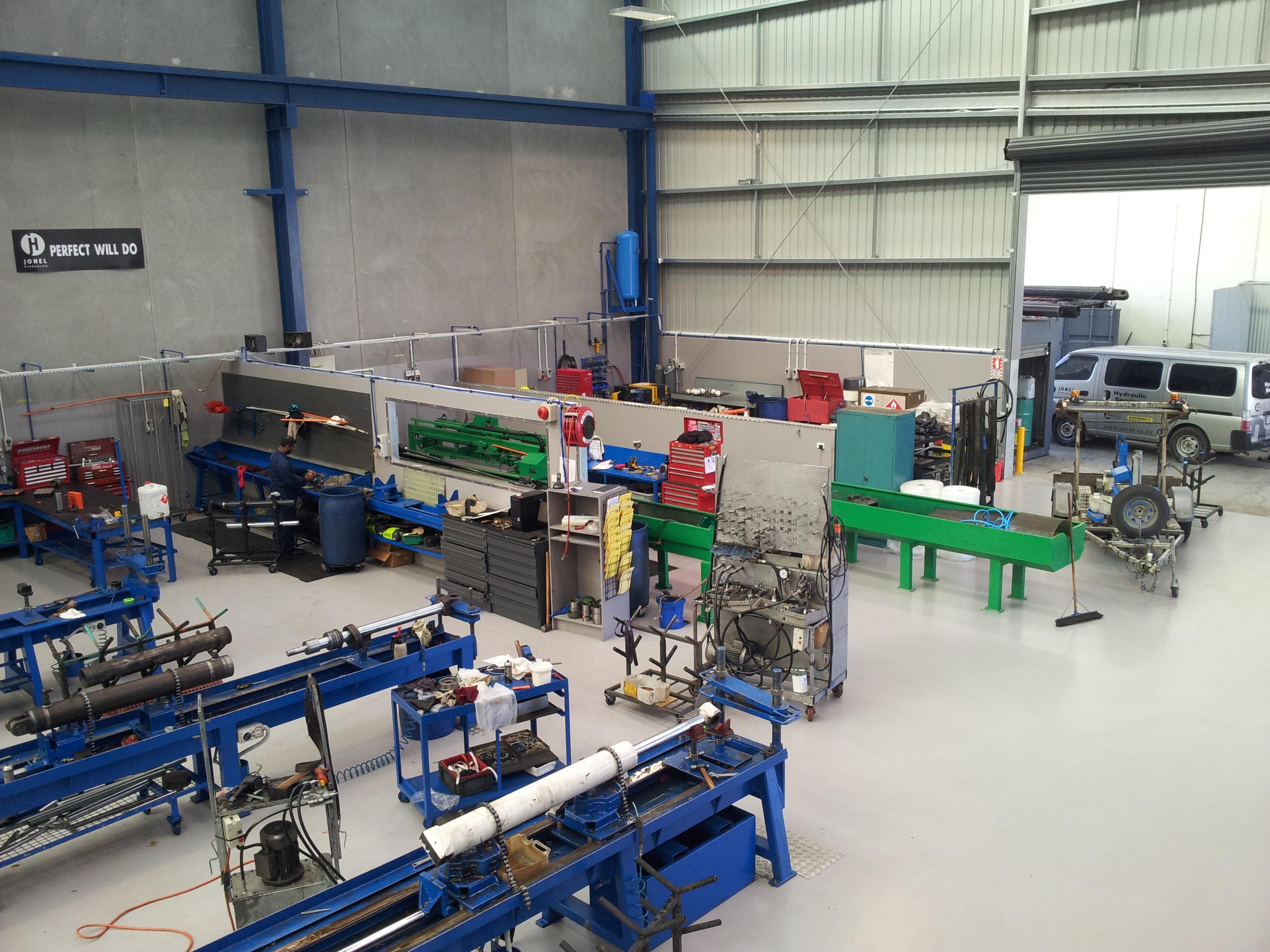 hydraulic workshop
