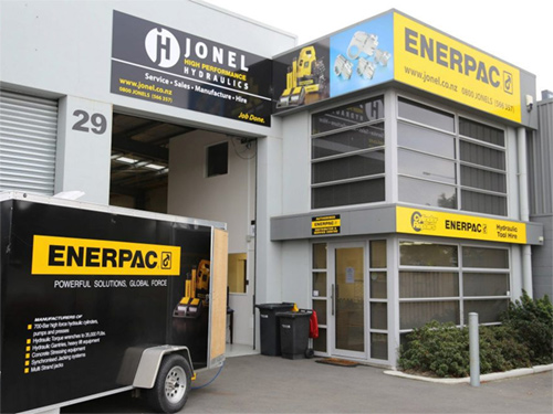 Jonel Hydraulics celebrate Christchurch office opening graphic