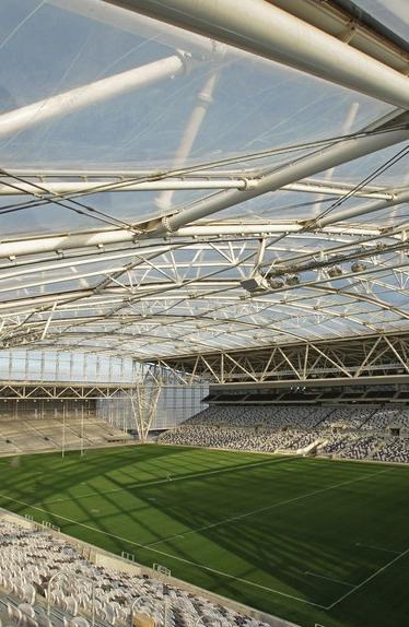 Forsyth Bar Stadium in Dunedin graphic