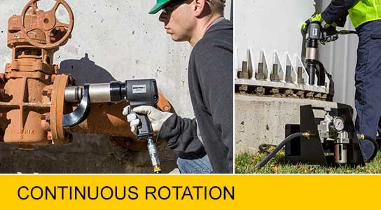 New pneumatic torque wrenches from Enerpac graphic