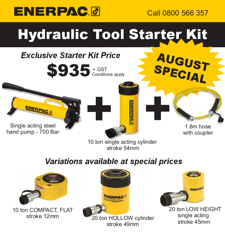 Exclusive Jonel offer – Enerpac Starter Kit Special graphic