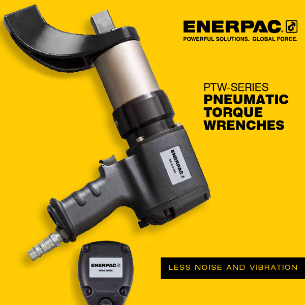 PTW-Series pneumatic torque wrenches in NZ graphic