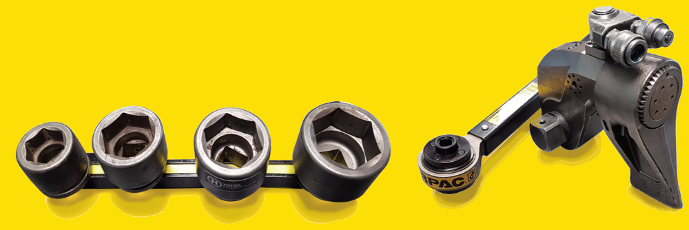 Heavy Duty Enerpac Sockets – Get a FREE magnetic rail graphic