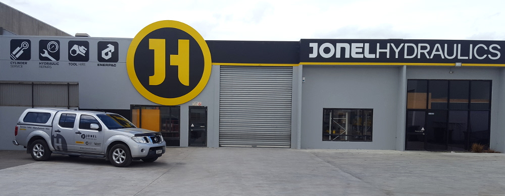 New premises for Jonel Hydraulics Christchurch workshop graphic