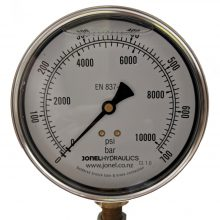 Jonel Hydraulics Gauges.