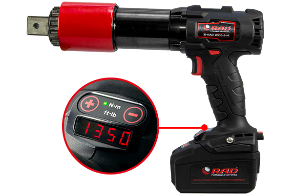 Image of the B-RAD SELECT battery tool